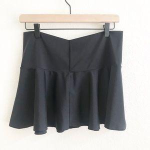 Victoria's Secret Black Swim Skirt Coverup- M